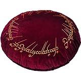 """Il Signore degli Anelli - Cuscino """"un anello"""" velluto Elbenwald rosso Ø43cm"""