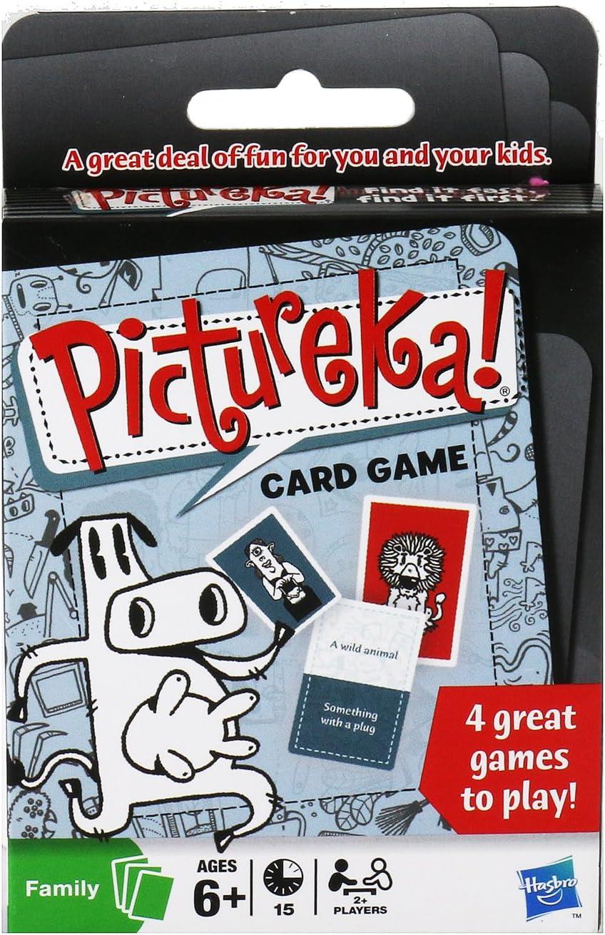 Pictureka Hasbro Games Card Game: Amazon.es: Juguetes y juegos