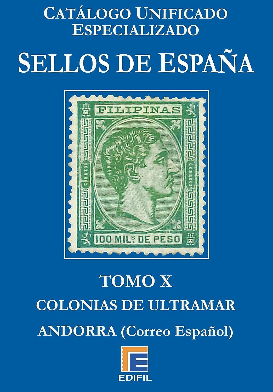 Catálogo Unificado Especializado de Sellos de España Serie Azul ...