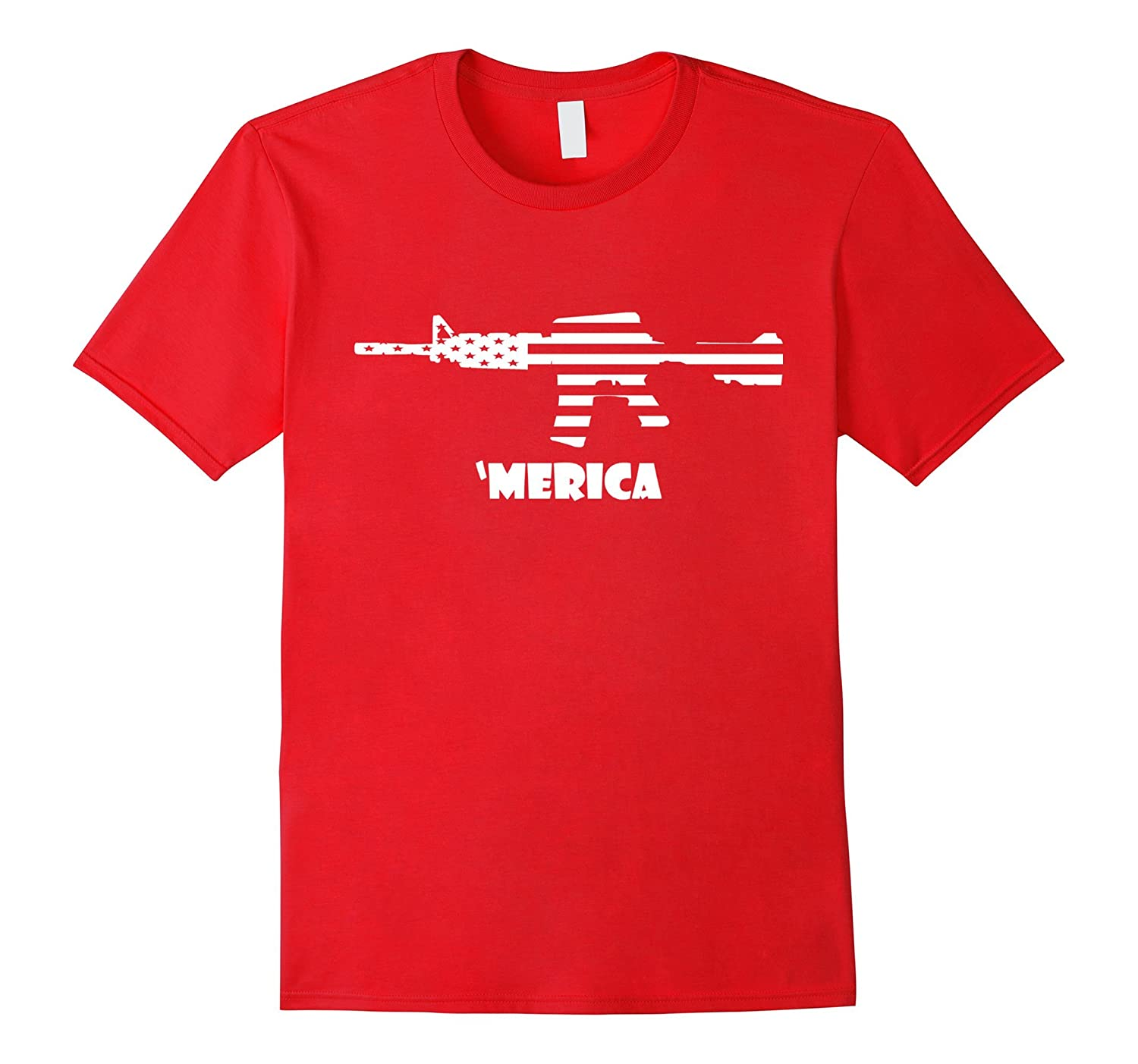 'Merica T Shirt - Funny T Shirt for 4th of July - Patriotic-TH