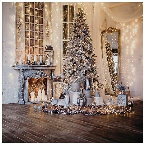 Wolada 10x10ft Beautiful Christmas Theme Vinyl Customized Backdrop Cp Photography Prop Photo Background 11715