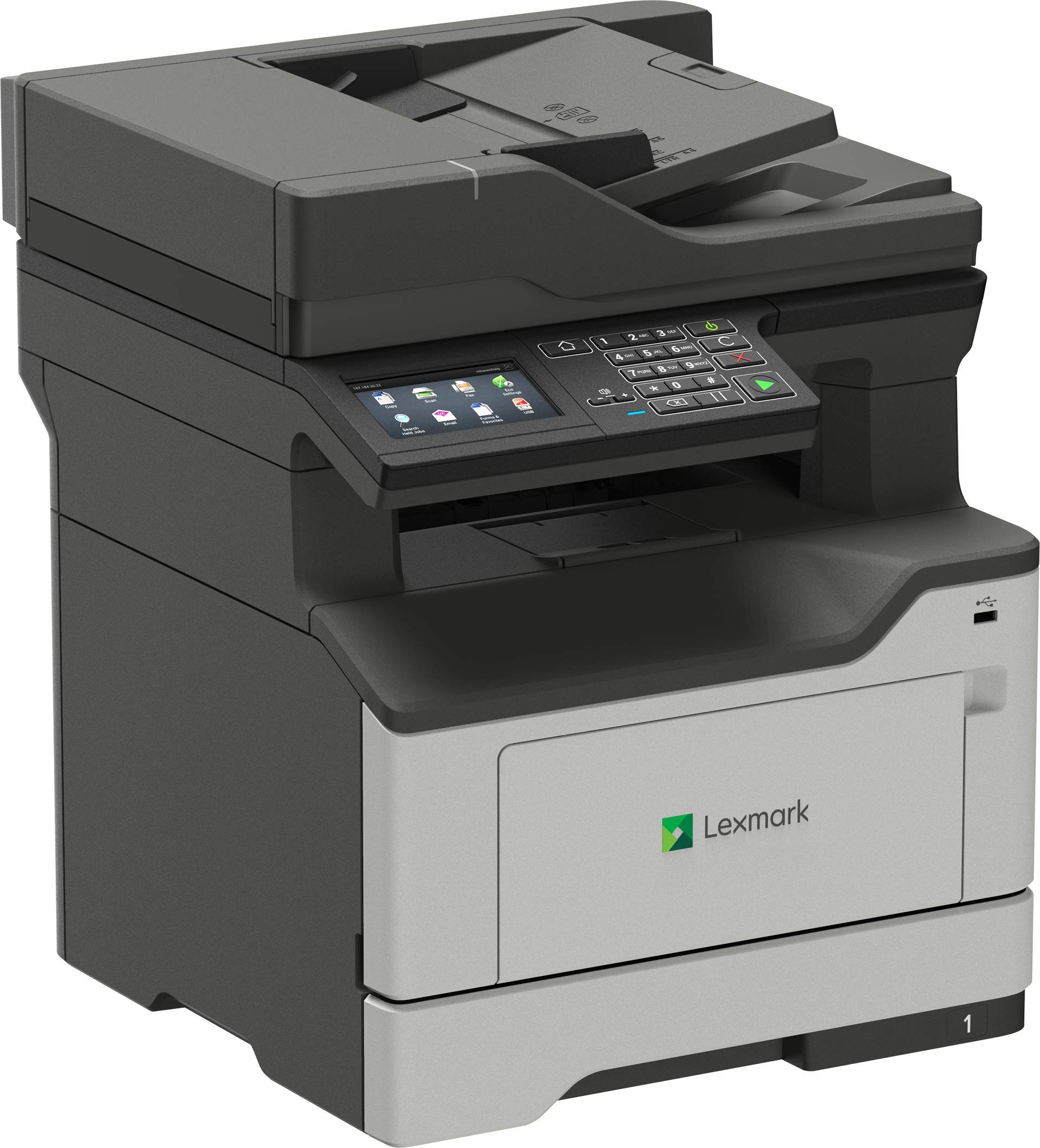 Lexmark MB2442adwe Monochrome Multifunction Printer with fax scan Copy Interactive Touch Screen Wi-Fi and Air Print Capabilities (36SC720) by Lexmark (Image #4)