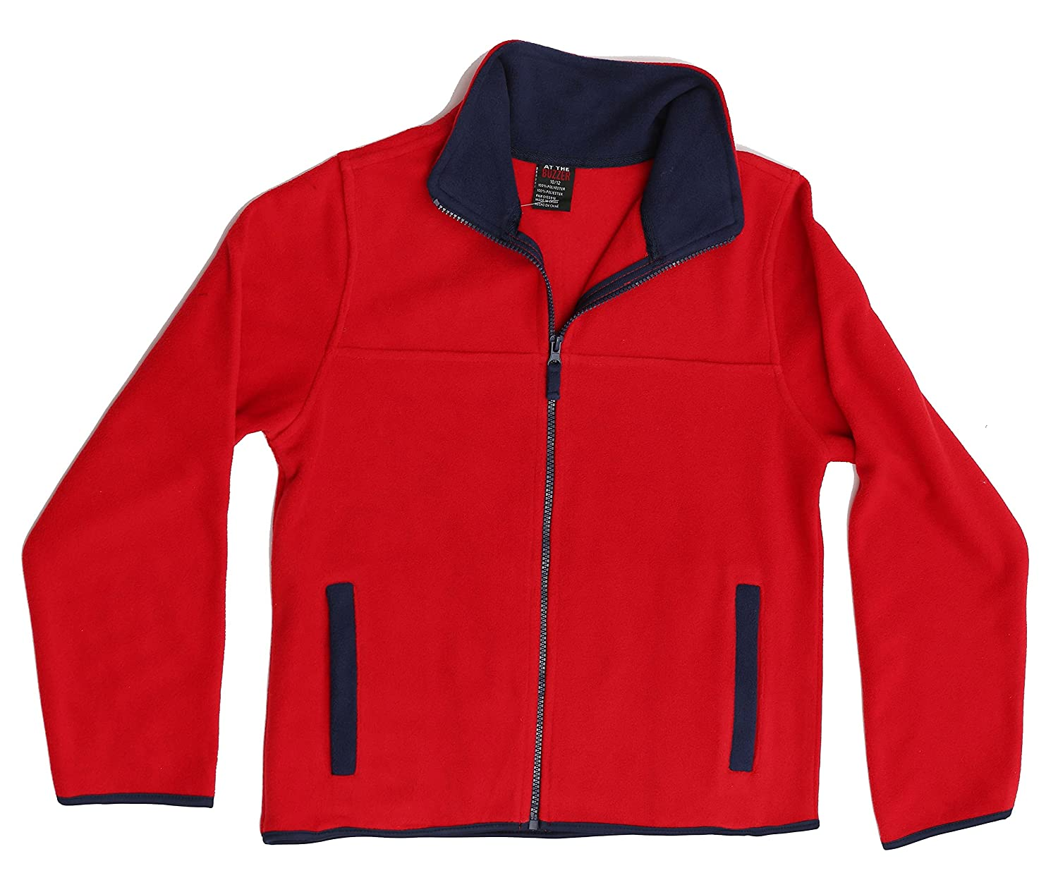 At The Buzzer Polar Fleece Boys Jacket