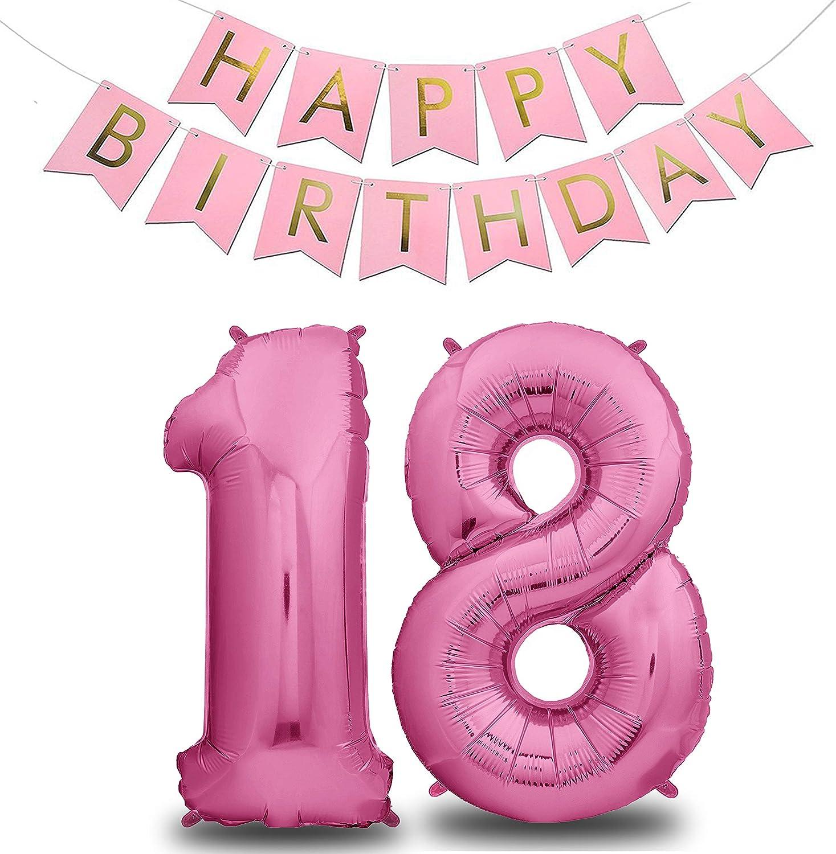 Palloncini Compleanno 10 Anni Rosa 101 CM I Palloncino Numero 10 Happy Birthday Ghirlanda I Numeri Gonfiabili Compleanno I Decorazioni Compleanno I Palloncino 10 Anni Compleanno I Vola con lElio