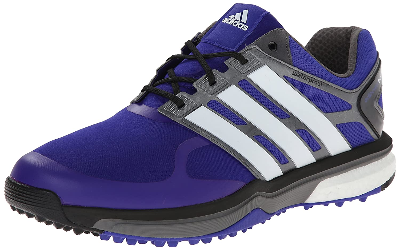 adidas Men's Adipower s Boost Golf Shoe B00NTN4YUC 10.5 M US|Night Flash/Running White/Dark Silver Metallic