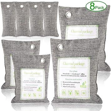 Amazon.com: Bolsas de bambú Angbo para purificar el aire y ...