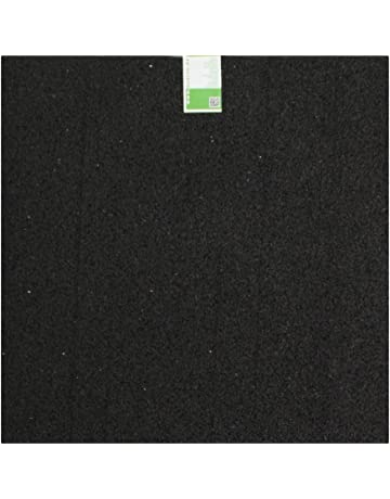 acerto 31699 Alfombra antivibraciones - Estera de la lavadora - 60x60x0,6 cm - Caucho