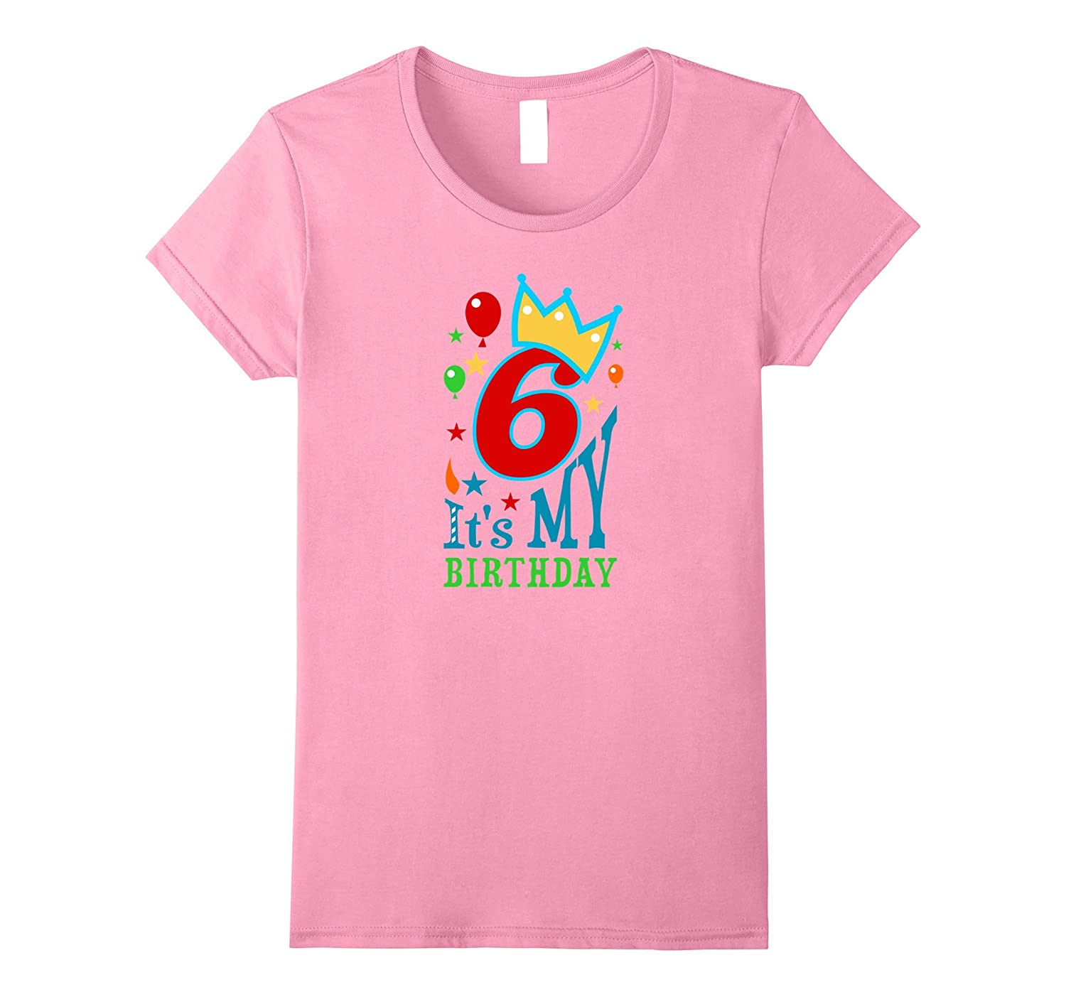 Birthday Shirt For Girls Boys Age 6