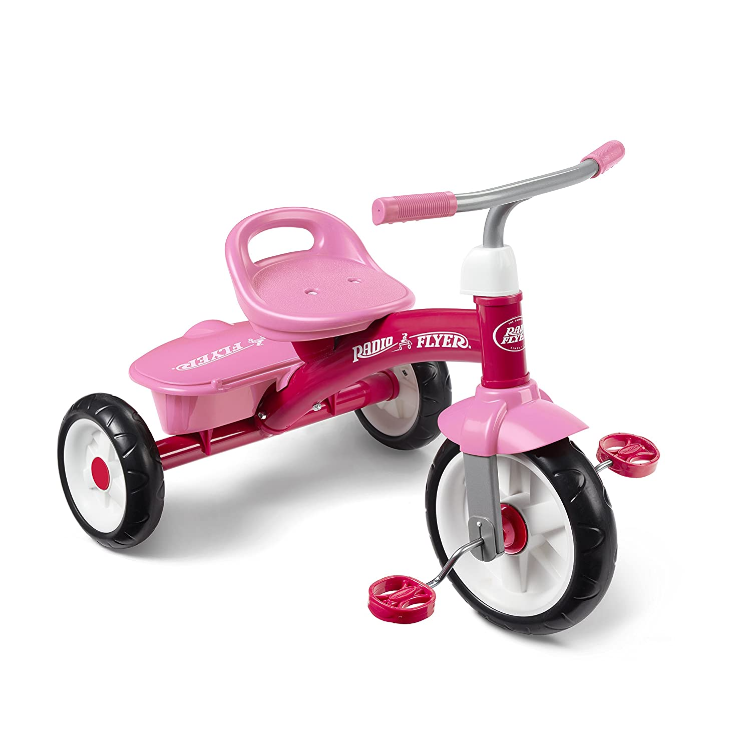 Radio Flyer Rider Trike Ride On, Pink (Amazon Exclusive)