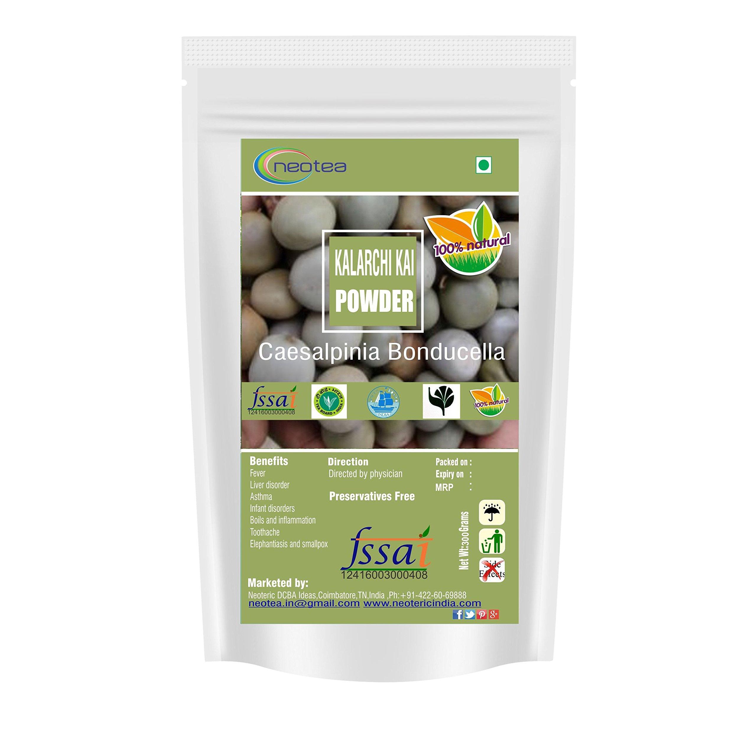 Neotea Bonduc Nut   Fever Nut   Caesalpinia Bonducella   Kalachikai Powder, 300gm