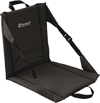 Outwell Beach - Silla Plegable, Folding Beach, Negro