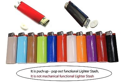 17. Jcuniversal - Regular Lighter Stash Spot Diversion Safe, (Ship Out - 1 Assorted Color)