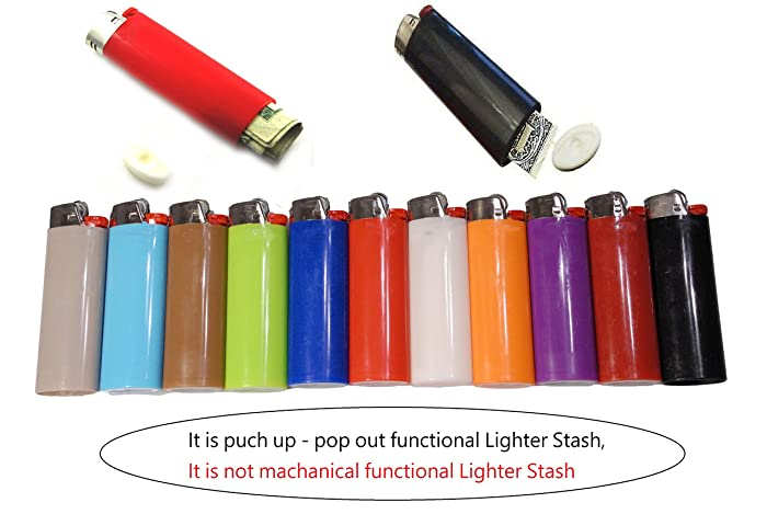 17. Jcuniversal - Regular Lighter Stash Spot Diversion Safe, (Ship Out - 1 Assorted Color)