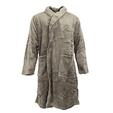 Pierre Roche Mens Luxury Super Soft Dressing Gown at Amazon Mens Clothing store: