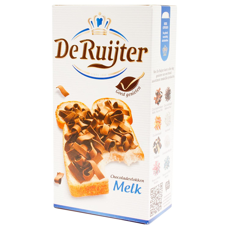De Ruijter Chocoladvlokken Melk, Copos de Chocolate con Leche: Amazon.es: Hogar