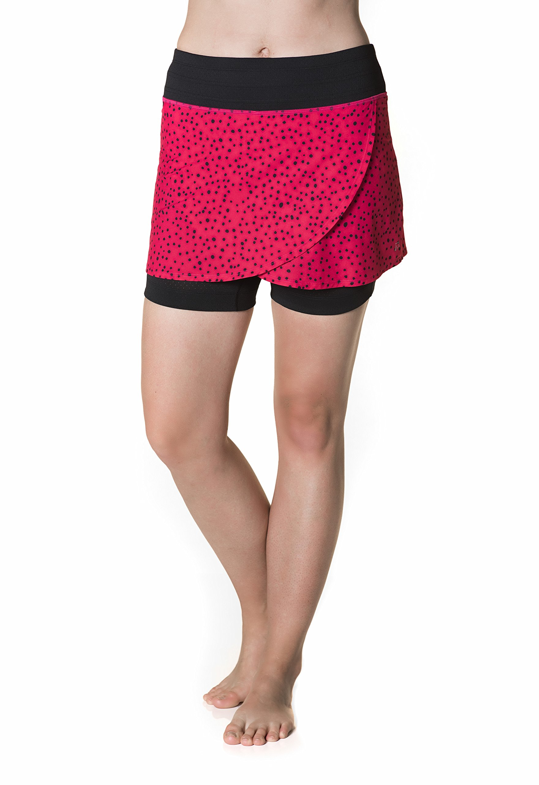 Skirt Sports Women's Hover Skirt, Bubbly Print, X-Large by Skirt Sports