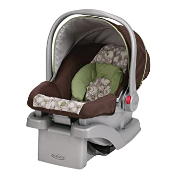 Amazon.com : Graco SnugRide Click Connect 30 infant Car Seat, Zuba ...