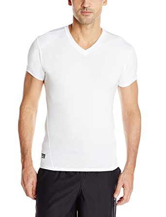 645d3d2111da Under Armour Men's Tactical HeatGear Compression V-Neck: Amazon.co.uk:  Clothing