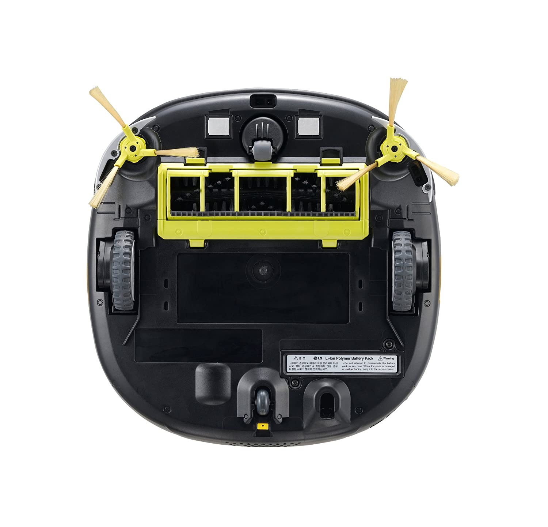 LG VR 6270 LVMB Sin bolsa 0.6L Antracita aspiradora robotizada - Aspiradoras robotizadas (Sin bolsa, Antracita, Plaza, 0,6 L, 60 dB, HEPA 11): Amazon.es: ...