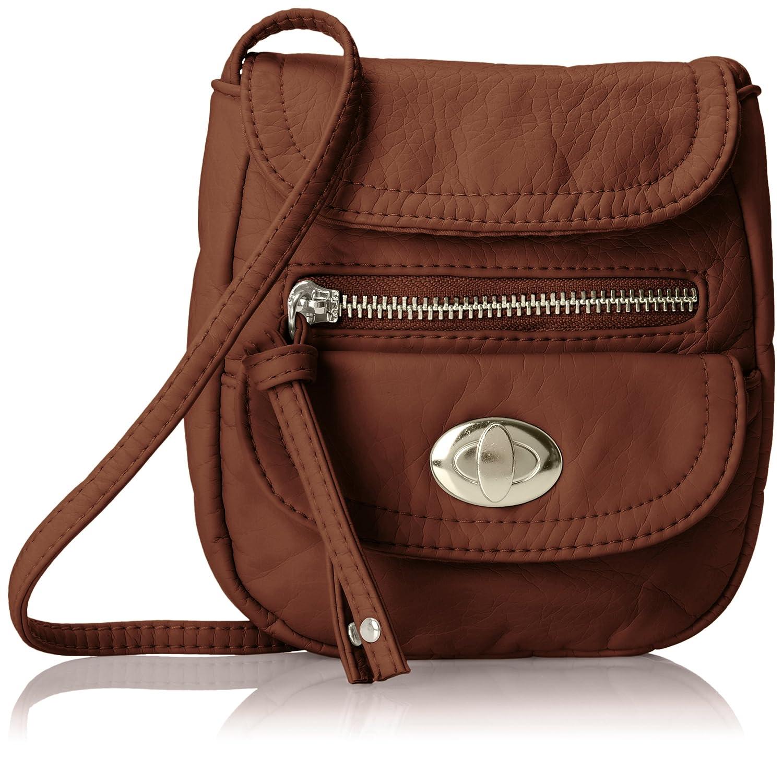 044b5b02ddd52d Wild Pair Flap Closure Cross Body Bag color Brown talla Una talla Flap  Closure Crossbody