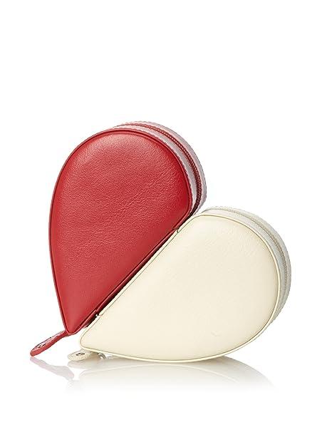 Rowallan Juliette Heart Jewelry Box Leather REDWINTER WHITE