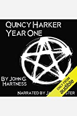 Year One: A Quincy Harker, Demon Hunter Collection Audible Audiobook