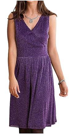 e9aa61949f1 holidaysuitcase Ladies Shimmer Evening Dress  Amazon.co.uk  Clothing