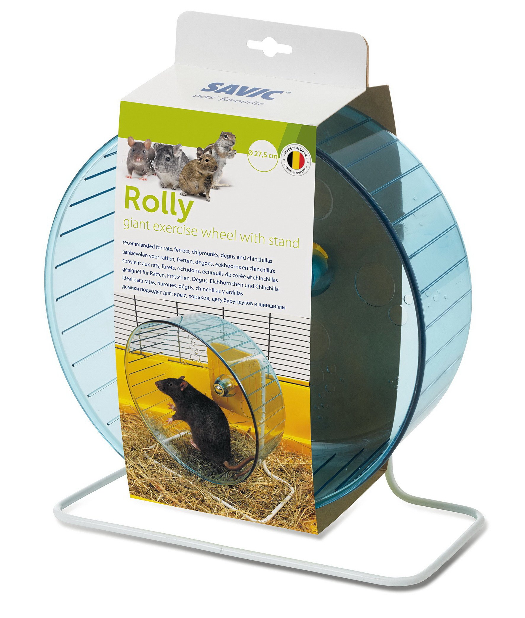 Savic Rolly Giant & Stand Exercise Wheel 27.5cm