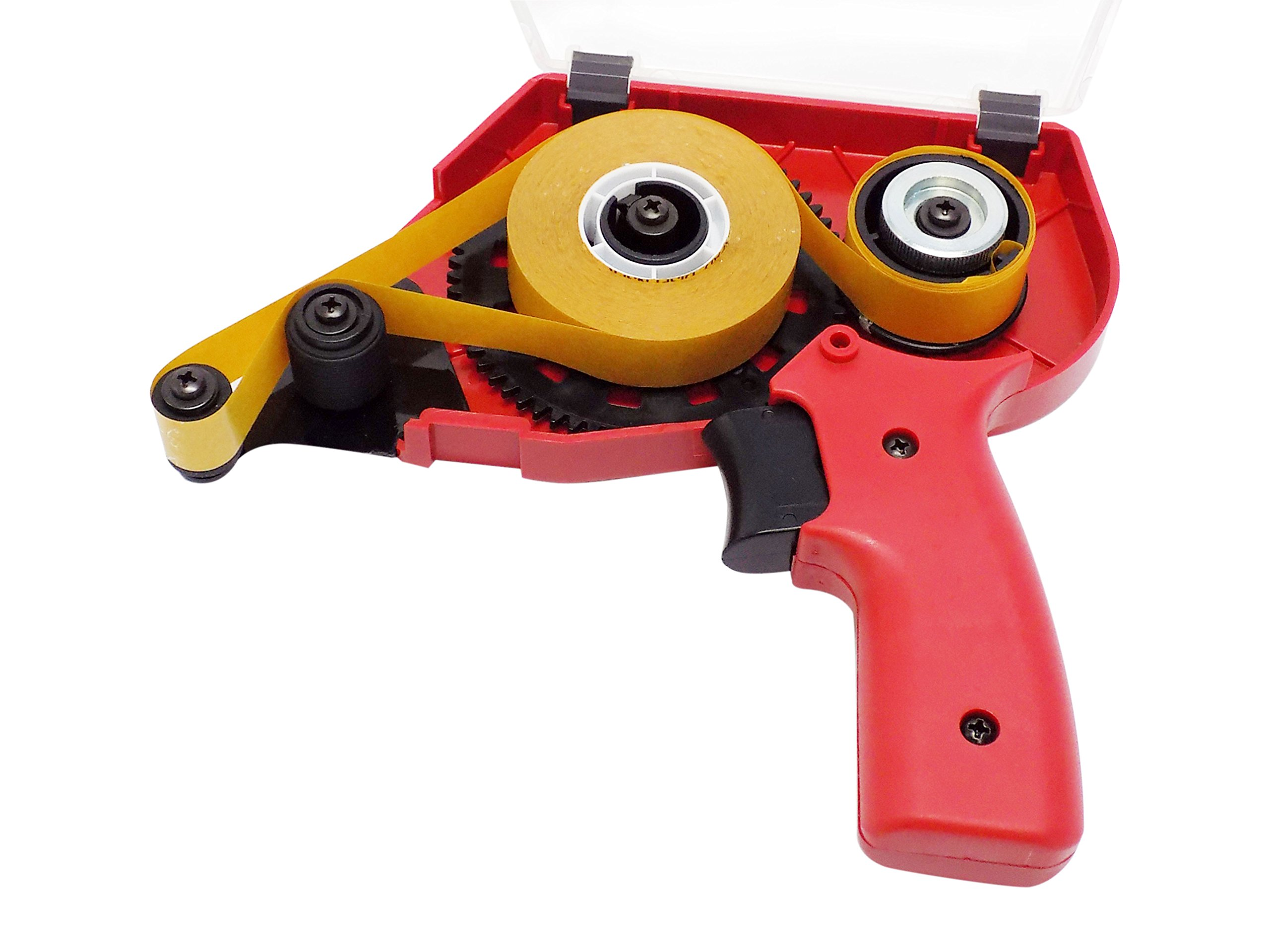 WOD ATG-50 ATG Tape Dispenser Gun for Transfer Tape, Adhesive Applicator: Dispenses 1/4 in, 3/8 in, 1/2 in, and 3/4 in. Wide on 1 in. Core (Comes with One Free 1/4'' in. ATG Tape as a Free Sample) by WOD Tape