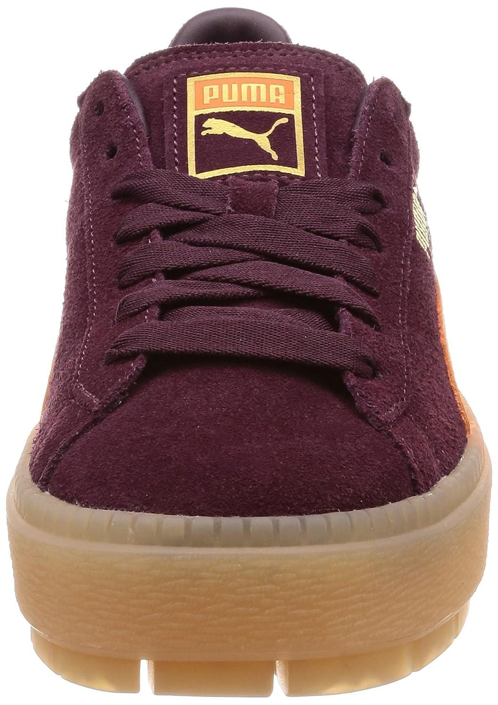 neue hohe Qualität feine handwerkskunst absolut stilvoll PUMA Platform Trace Block Donna Sneaker Marrone: Amazon.it ...