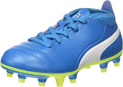 PUMA One 17.4 FG Jr, Chaussures de Football Mixte Enfant