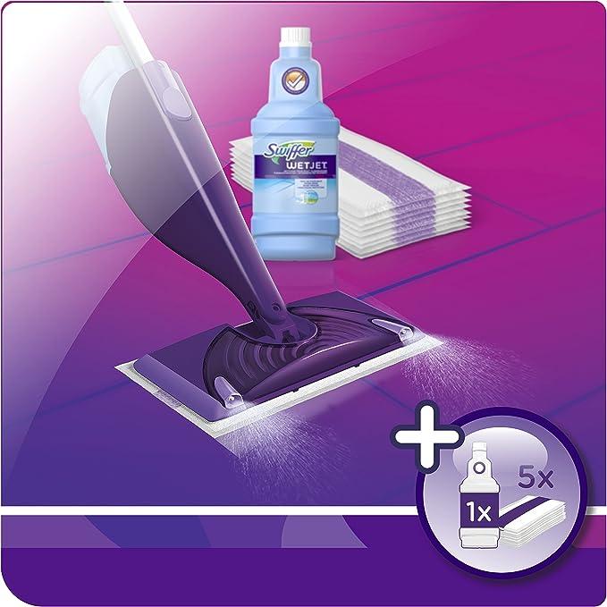 Swiffer Wetjet Balai Lave Sol Avec Spray Kit De Démarrage