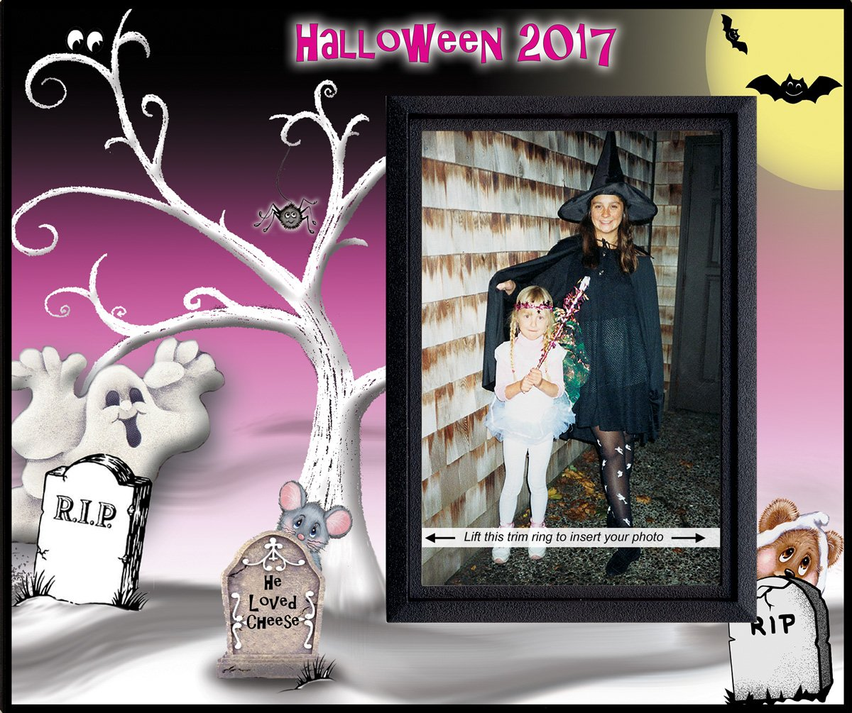 Halloween 2017 - Picture Frame Gift
