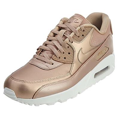 Nike Air Max 90 Prm Sneaker For Women,Bronze,41 EU,Nk896497