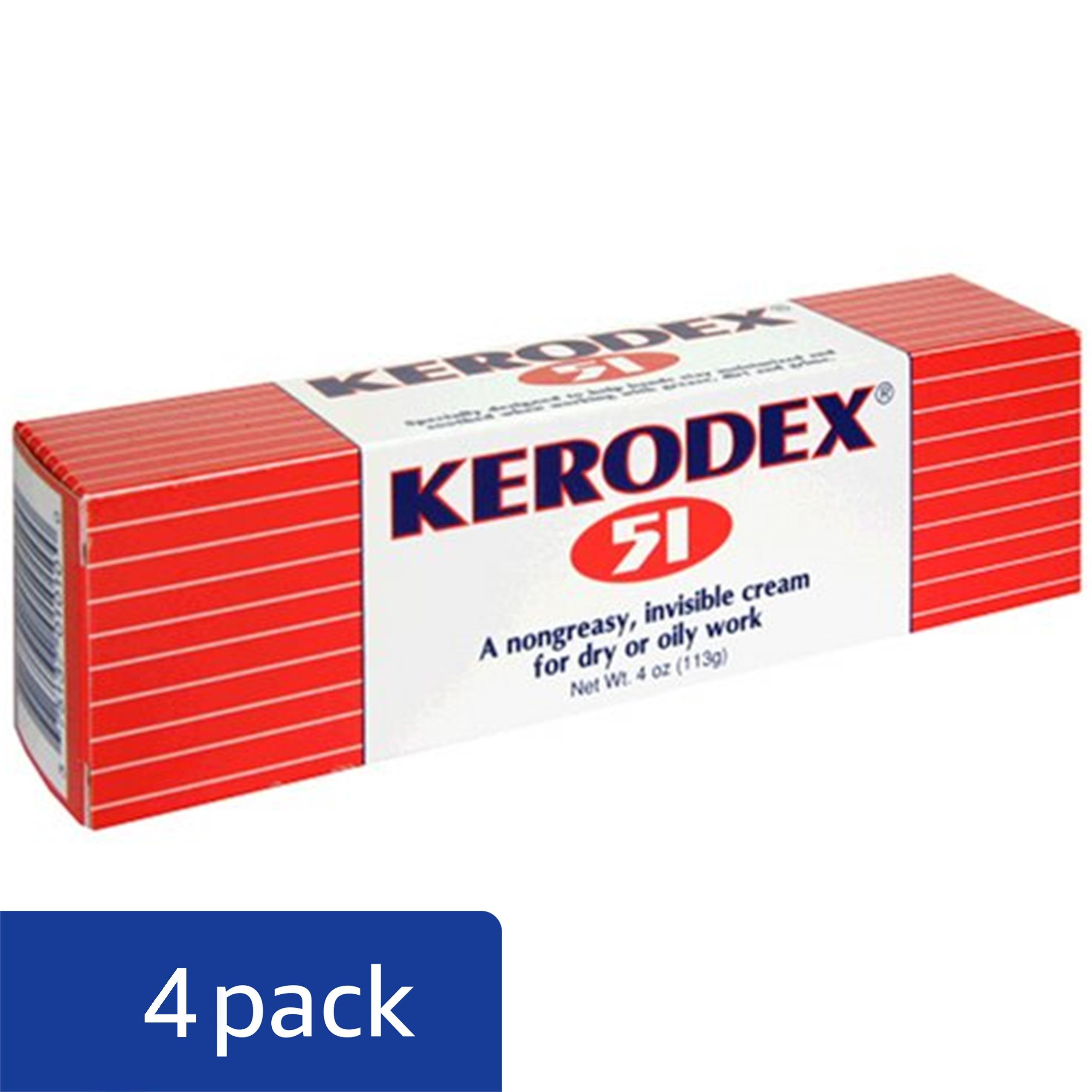 Medtech Products Kerodex 51 for Dry or Oily Work, Cream, 4 oz (113 g) (Pack of 4)