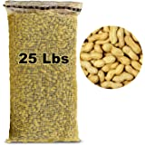 EasyGo Products 25lb Bag Pound Bag Animal Peanuts in-Shell. Peanuts for Squirrels, Birds, Deer, Pigs and A Wide Variety of Wi