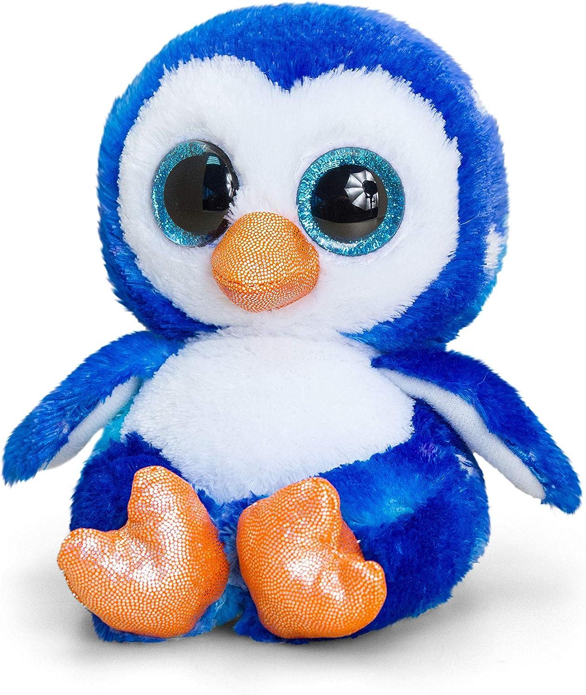 Keel Toys SF1635 Soft Toy Animotsu, Blue