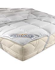 PROCAVE Micro de Comfort Colchón con Gomas en Las Esquinas
