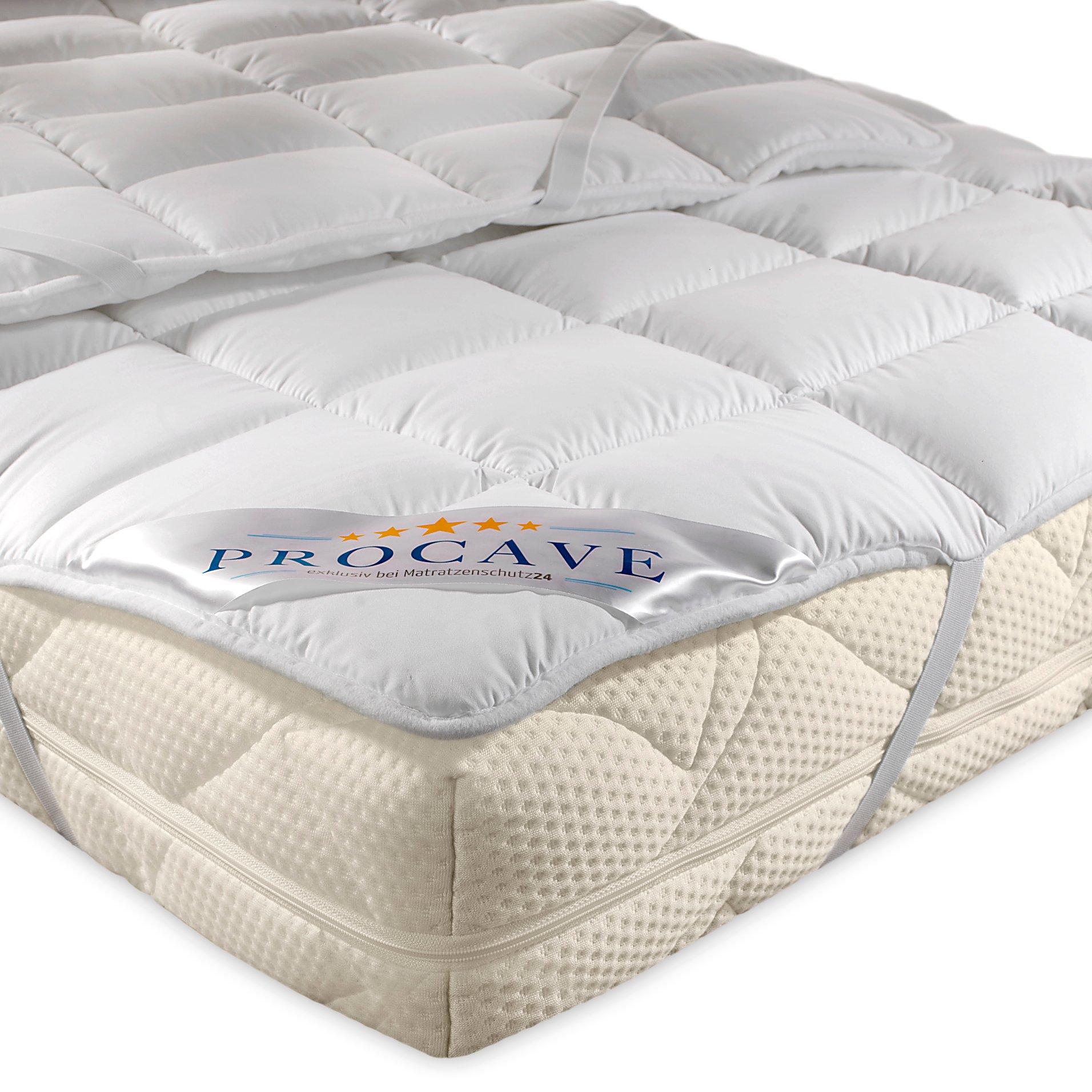 PROCAVE MICRO CONFORT Protector colchón en varios tamaños, Made in Germany, Funda colchón de