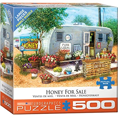 EuroGraphics (EURHR Honey for Sale 500Piece Puzzle 500Piece Jigsaw Puzzle: Toys & Games