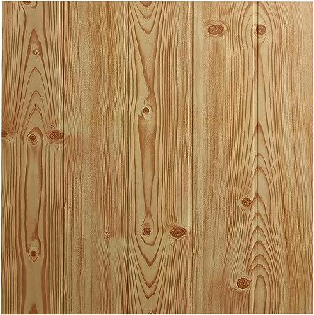 Decosa Dalle de plafond Athen, pin 50 x 50 cm PRIX SPECIAL LOT DE 2 SACHETS (= 4m2)