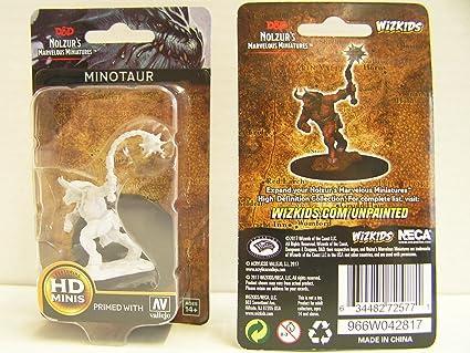 Amazon com: D&d Nolzur's Marvelous Miniatures - Minotaur