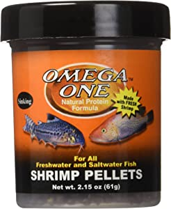 Omega One Sinking Shrimp Pellets, 8mm Pellets