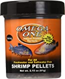 Omega One Shrimp Sinking Pellets, 2.15 oz.