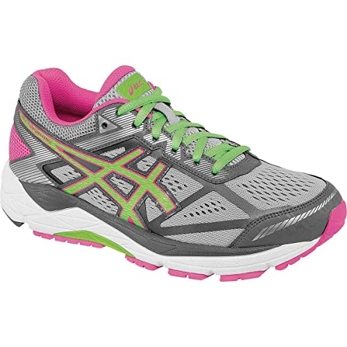 Género dorado bloquear  Buy ASICS Women's Gel-Foundation 12 (2D) Silver Grey, Pistachio and Pink  Glow Running Shoes - 4 UK/India (37 EU)(6 US) at Amazon.in