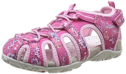 7e346c1443 Geox Girls' JR SANDAL ROXANNE C Fashion Sandals Pink Pink  (FUCHSIA/PINKC8230)