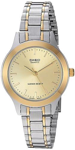 Amazon.com: Casio Reloj de cuarzo Core LTP1128G-9 A Silver ...