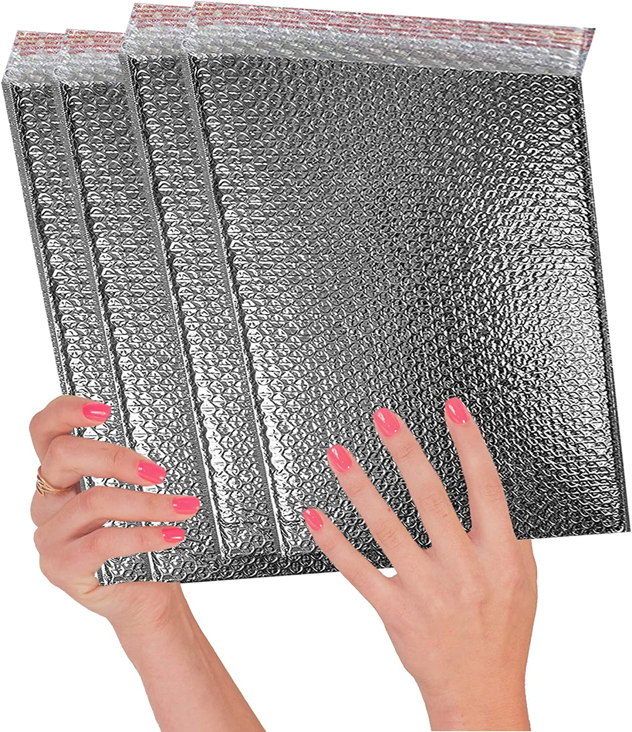 10 Pack Cool Shield Bubble Mailers 11x15. Thermal Padded envelopes 11 x 15. Large Cushion Food mailers. Peel and Seal. Thermal Shipping Bags for mailing, Packing. Packaging in Bulk, Wholesale Price.