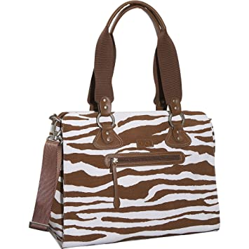 Amazon.com: OiOi Zebra bolsa Bolsa de Pañales: Baby