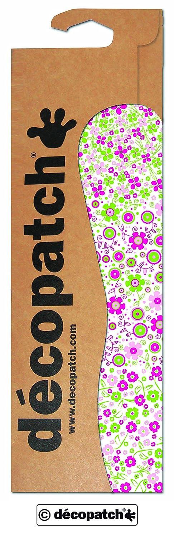 Colore Rosa//Verde//Bianco 3 Pezzi Decopatch Fiori di Carta Decorativi 395 x 298 mm